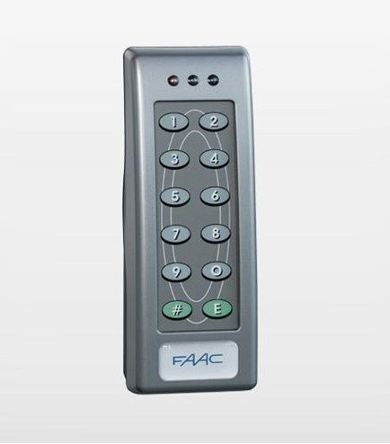 Minitime Keypad Faac Access Control Devices