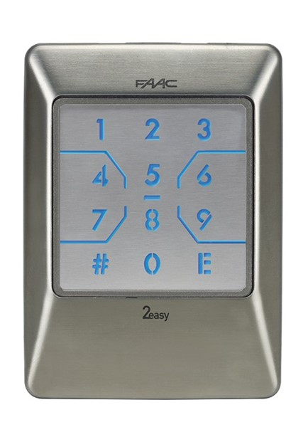 FAAC XKP Keypad Faac D Photo Eye Wiring Diagram on
