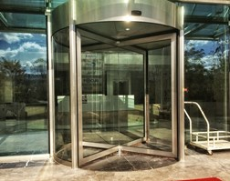 FAAC manual revolving door