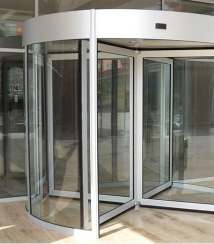 FAAC automatic revolving doors