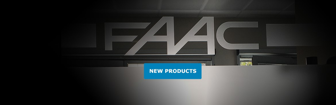 FAAC New Products