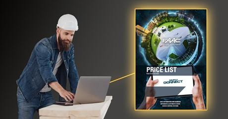 FAAC Pricelist 2020
