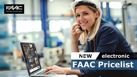 FAAC Pricelist 2021