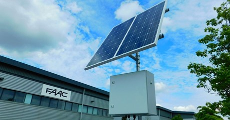 FAAC Solar Power Kit