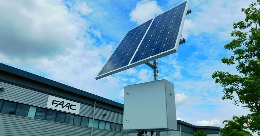FAAC Solar Power Kit