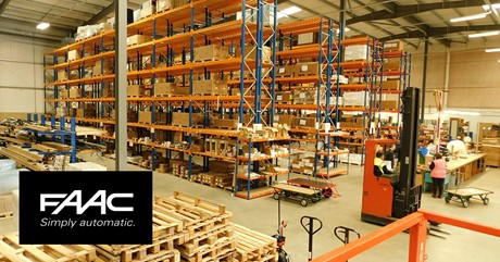 FAAC UK Warehouse