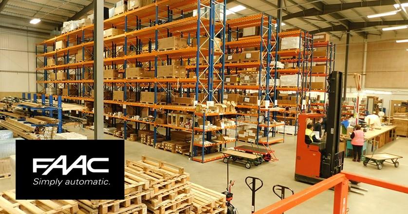 FAAC UK Warehouse