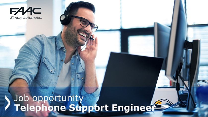 Job Opportunity | Telephone Support Engineer