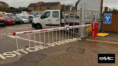 Installing B680 Barriers