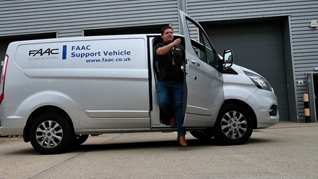 FAAC Support Vehicle