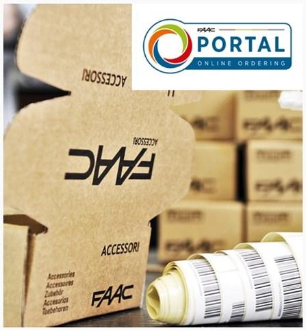 FAAC Online Ordering Portal